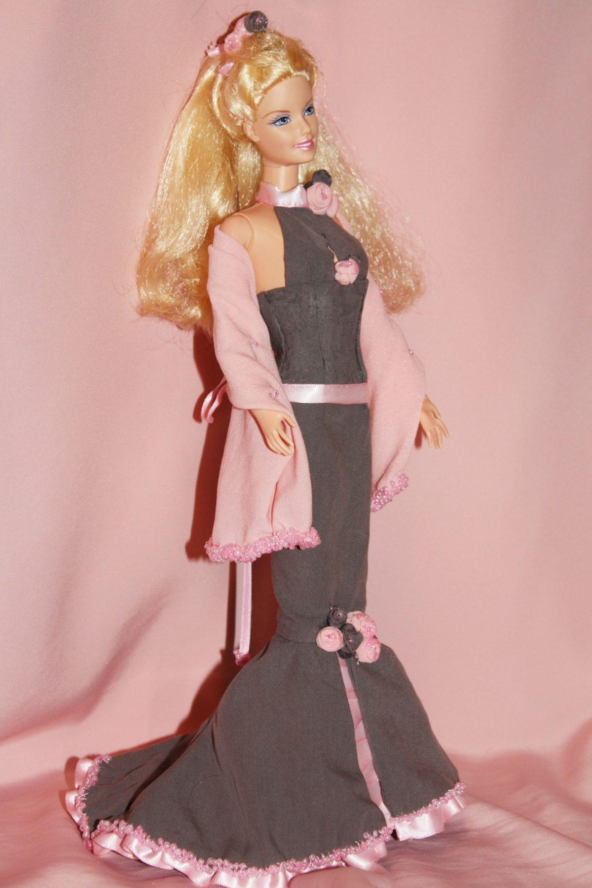 Creazioni per Barbie 2 – Secondo esperimento di abito da sera