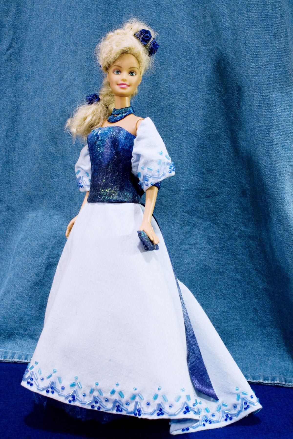 Creazioni per Barbie 1 – Primo esperimento di abito da sera