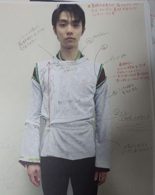 YuzuNews del 1 novembre 2017: Il costume di SEIMEI