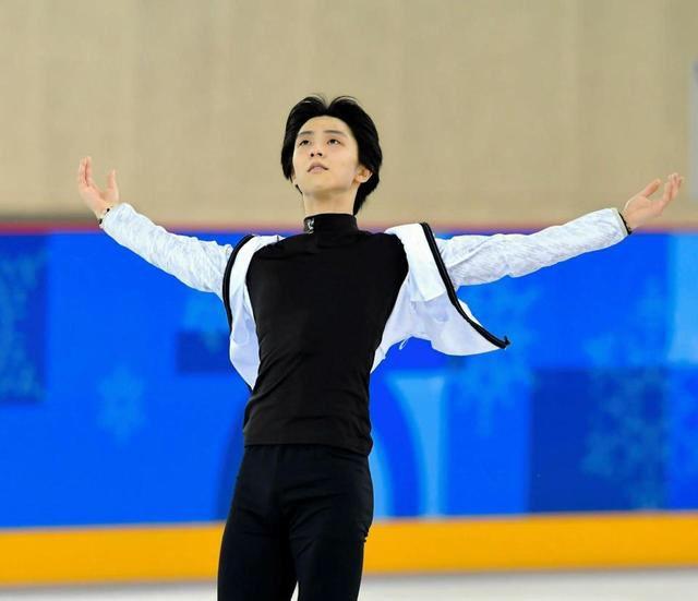 YuzuNews del 14 febbraio 2018: PyeongChang2018 – Terza practice di Yuzuru Hanyu al practice rink