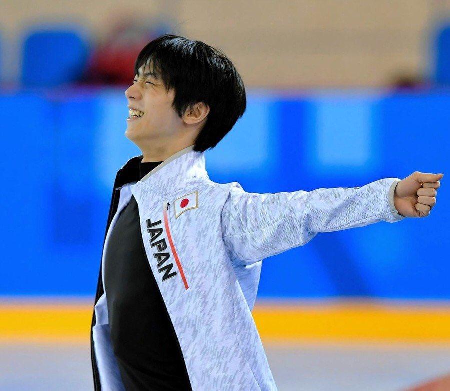 YuzuNews del 15 febbraio 2018: PyeongChang2018 – Quarta practice nel practice rink per Yuzuru Hanyu
