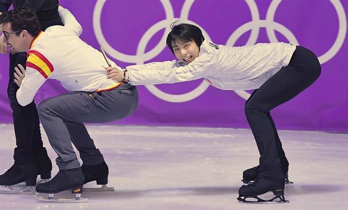YuzuNews del 24 febbraio 2018: PyeongChang2018 – Gala practice nel main rink, il giorno prima della chiusura