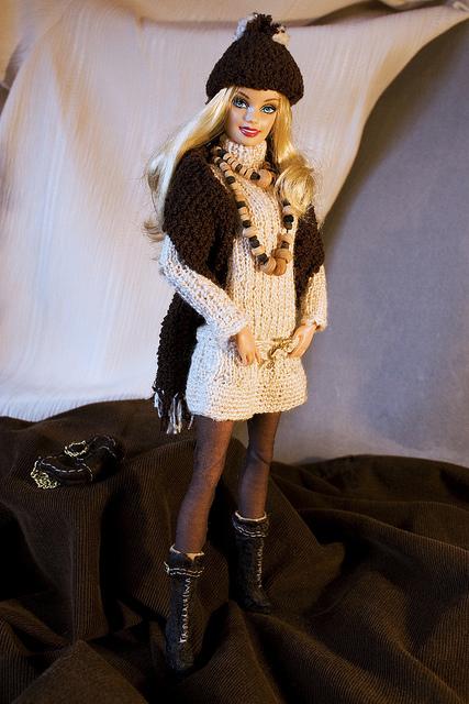Creazioni per Barbie 3 – Completino invernale