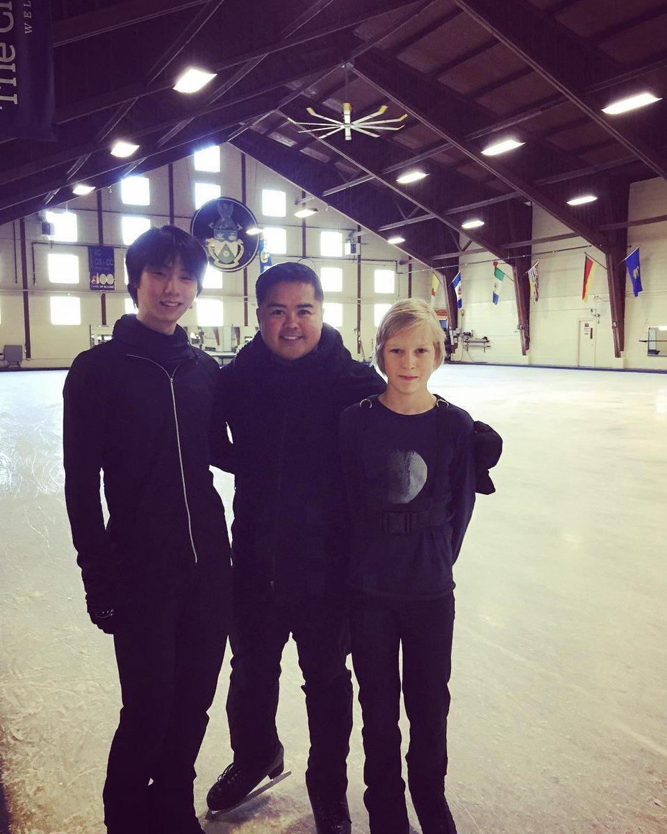 YuzuNews del 27 marzo 2018: Yuzuru è a Toronto. Tornato in pista al Cricket Club, in attesa degli eventi di aprile in Giappone
