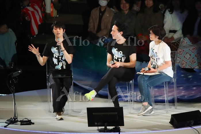 YuzuNews: Continues with Wings DAY1 (2018.04.13) – Yuzuru Hanyu si supera sempre e non smette mai di stupire! Grande show!