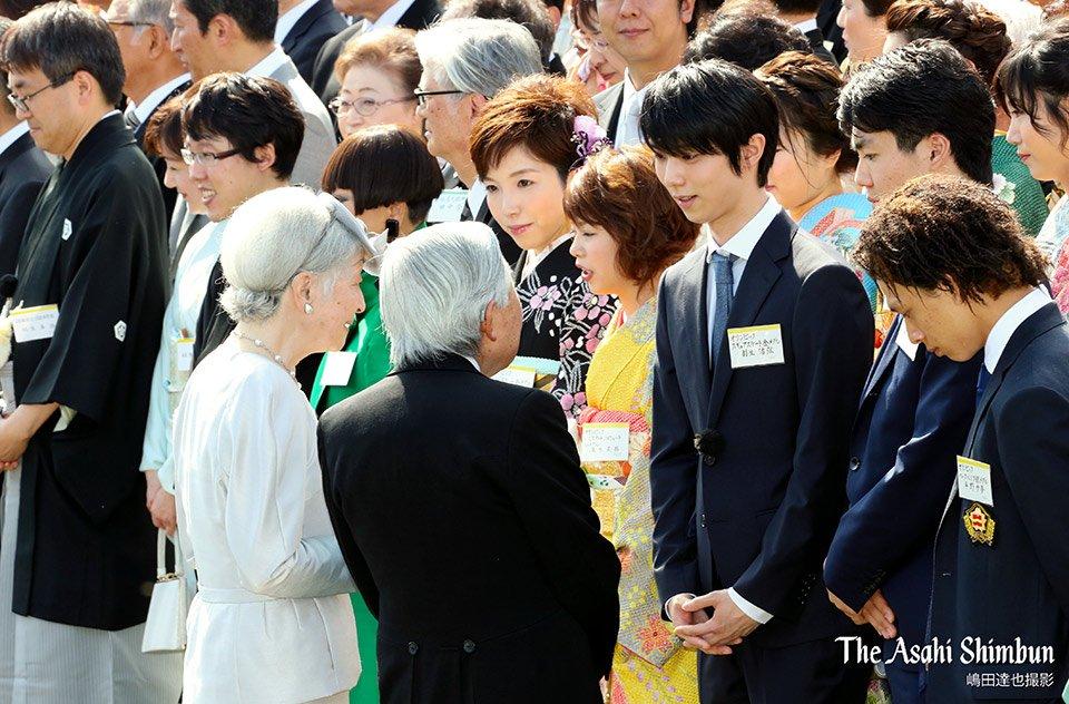 YuzuNews del 25 aprile 2018: Yuzuru ospite allo Spring Garden Party presso l'Imperatore… e altre notizie
