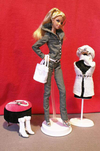 Barbie – Completino con varie combinazioni. Quarto esperimento