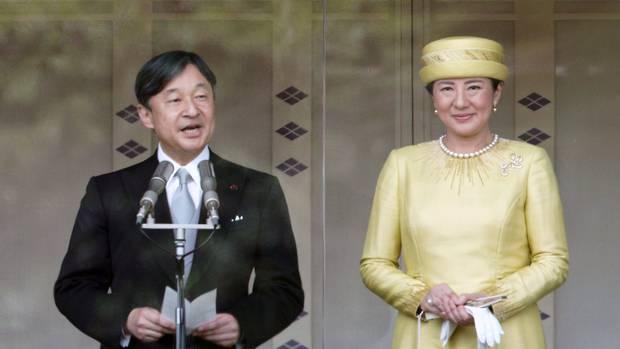 4 maggio 2019: Giappone – Prima apparizione pubblica per l'Imperatore Naruhito e l'Imperatrice Masako