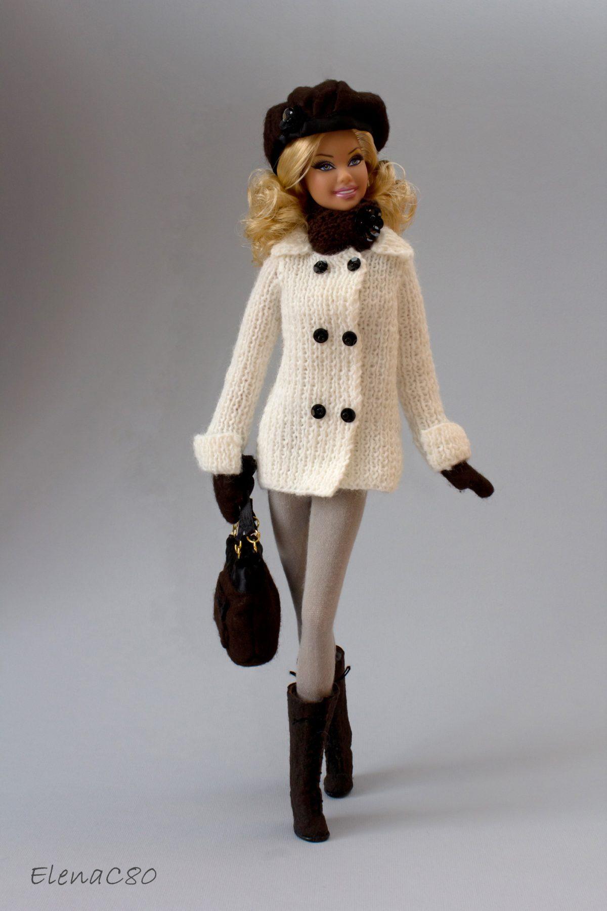 Creazioni per Barbie 9 – Si continua con i completi invernali!