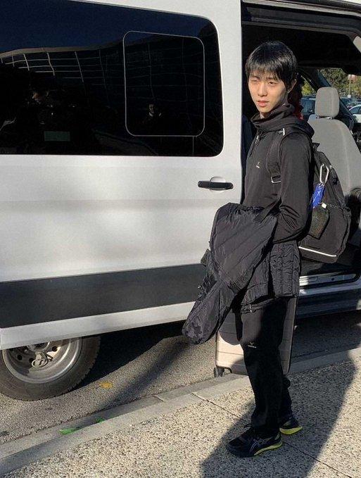 23 ottobre 2019: SCI2019 Arrivo di Yuzuru a Kelowna BC, Canada