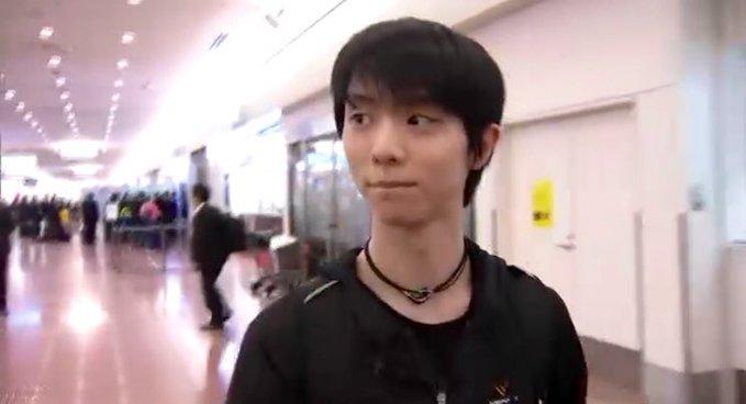20 novembre 2019: NHK2019 Arrivo di Yuzuru in Giappone