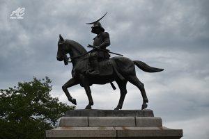 mausoleo di Date Masamune Sendai monumento statua