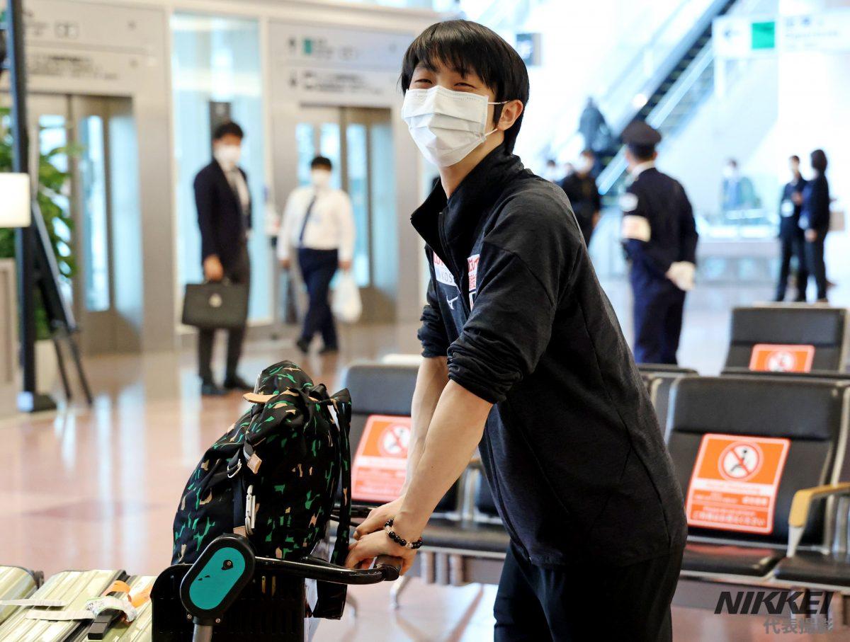 WCStockholm2021 Ritorno in Giappone di Yuzuru Hanyu (30 marzo)