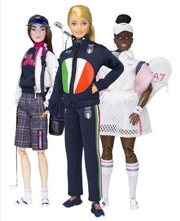 Tokyo 2020: Barbie EA7 Emporio Armani. La OOAK del Team Italia